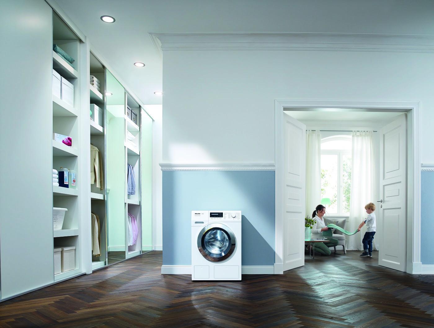 waschen und trocknen miele mit neuen einstiegsger ten. Black Bedroom Furniture Sets. Home Design Ideas