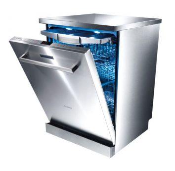 Silber Waschmaschine