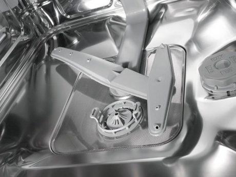 Spülmaschine von Innen Filter