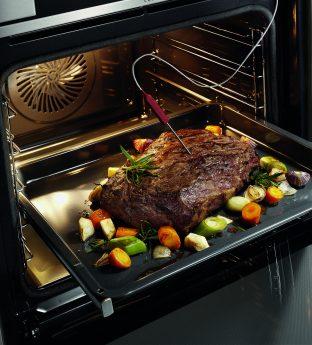 Temperaturmessen von Fleisch