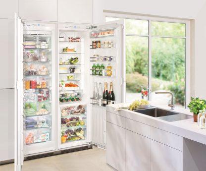 Kühlschrank mit zwei Türen