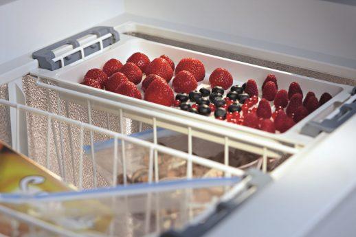 Obst in Kühlschrank