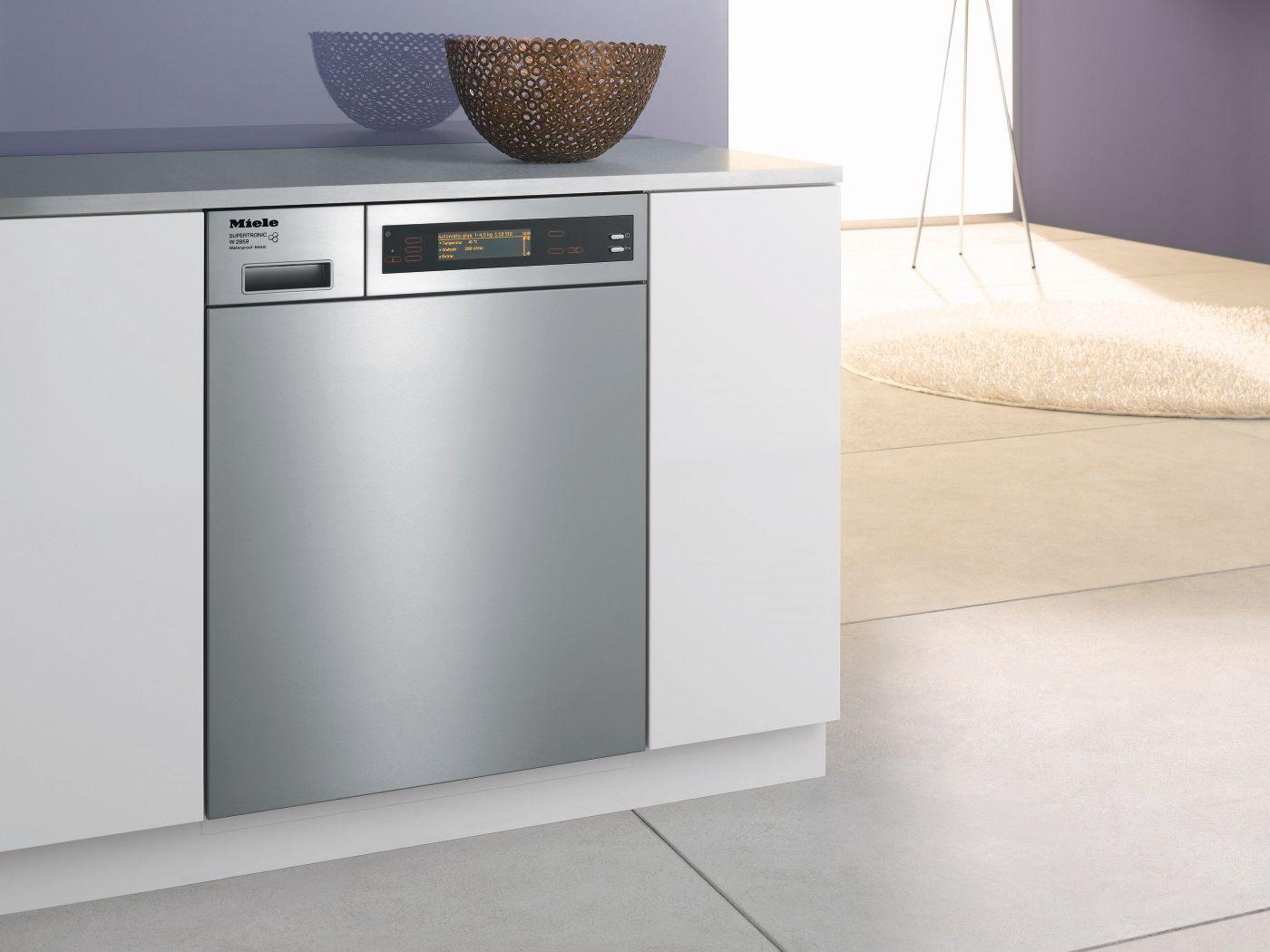 miele waschmaschine einbau silber bewusst haushalten. Black Bedroom Furniture Sets. Home Design Ideas