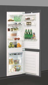 Befüllter Kühlschrank