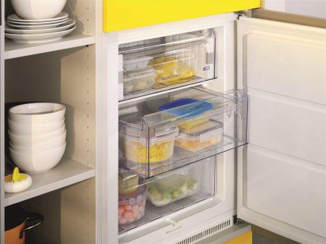 Gemüse im Tiefkühlschrank