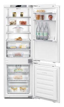 Kühlschrank offen und voll