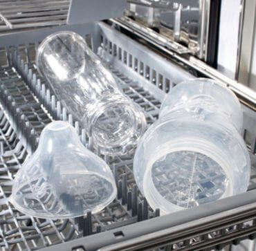 Plastik im Geschirrspüler