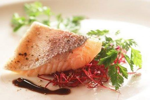 Fisch und Pertersilie