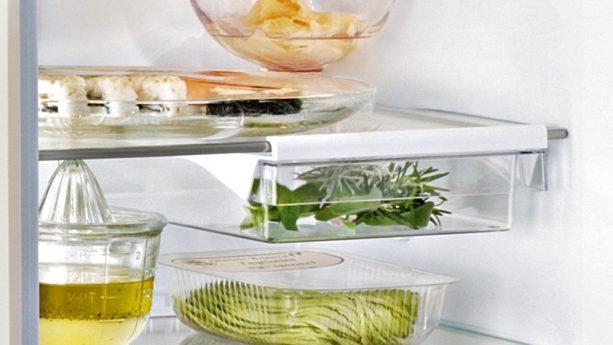 Essen in Kühlschrank