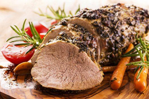 Fleisch mit Gemüse