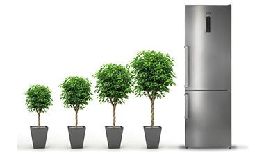 wie viel strom verbraucht ein k hl und gefrierger t bewusst haushalten. Black Bedroom Furniture Sets. Home Design Ideas