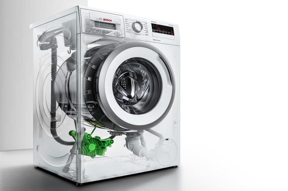 die neuen leisen waschmaschinen und w schetrockner von bosch. Black Bedroom Furniture Sets. Home Design Ideas