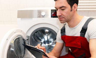 Waschmaschine aufstellen