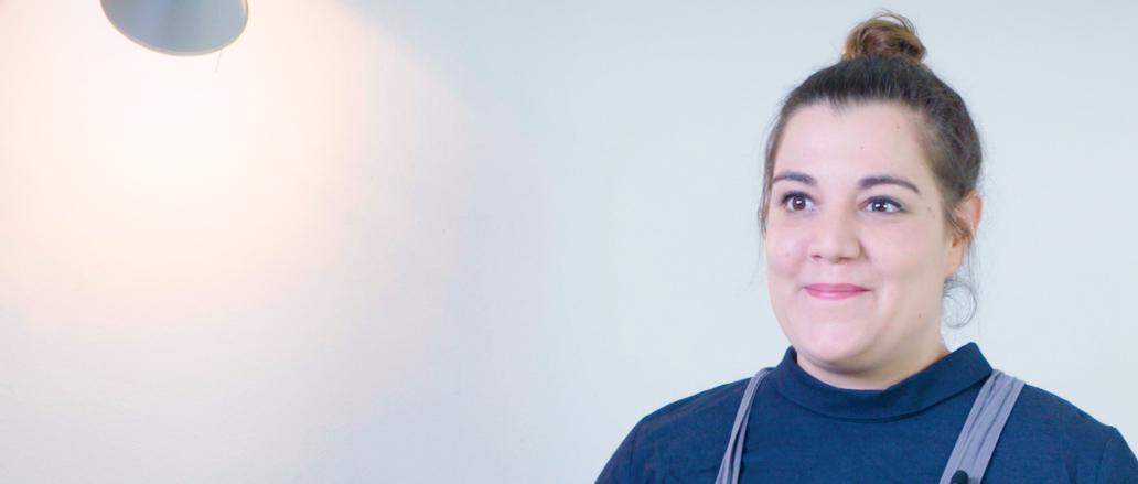 Nora Kreimeyer in ihrer Küche zuhause.