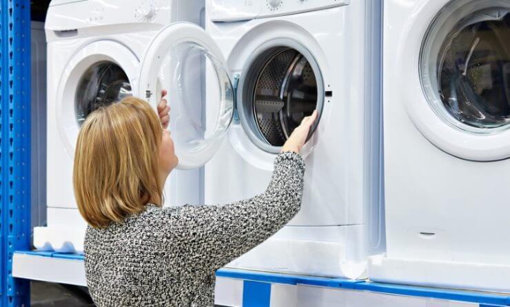 Vor allem bei Waschmaschinen lässt sich Energie sparen.
