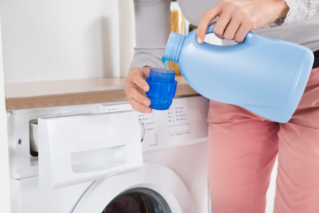 Waschmittel dosieren