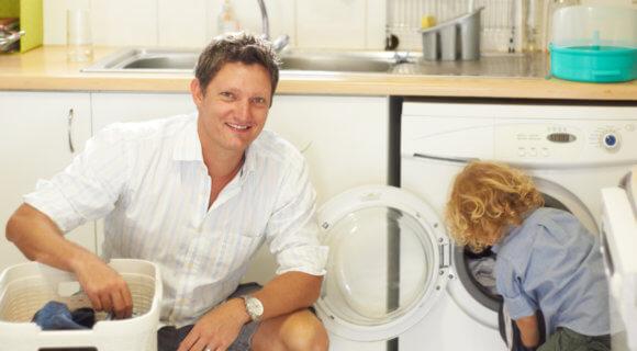 Eco-Programm Waschmaschine