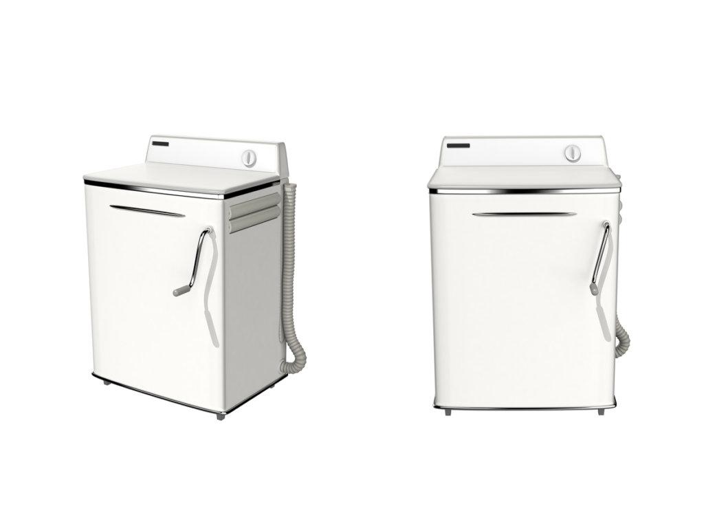 Waschmaschine aus der Mitte des 20. Jahrhundert (Credit: iStock-490134474)