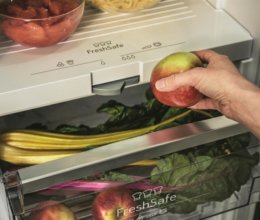 Kühlschrank mit No-Frost und Nullgradzone war vo0r enigen Jahrzehnten nur Zukunfstmusik.
