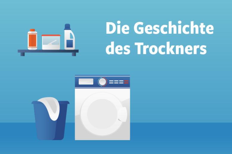 Die Geschichte des Trockners Illustration/Wortlaut