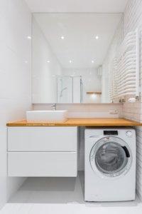 Waschmaschine Trockner Gekonnt Verstauen Tipps Fur Kleine Bader